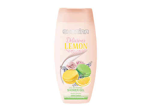 SUBRINA Delicious Lemon 250 ml, suihkugeeli