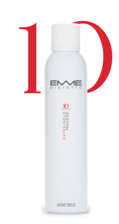 EMME 10 EXTRA-HOLD MOUSSE 250ml
